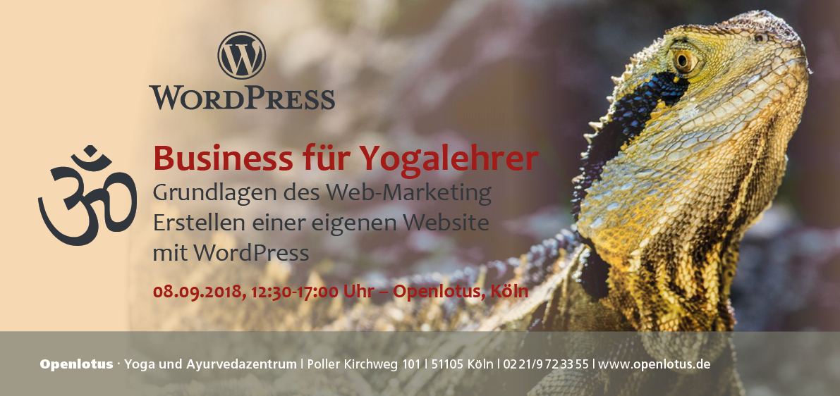 Marketing für Yogalehrer